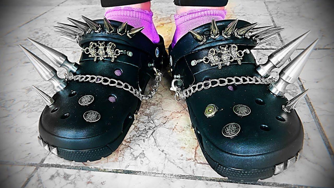 diy platform crocs