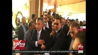 الآن | وصول الوزير خالد فوزي رئيس المخابرات العامة المصرية إلى قطاع غزة