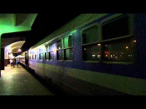 Tren de noapte in Gara Cluj Napoca
