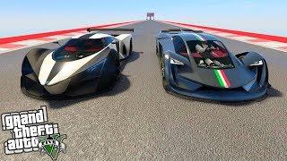 GTA 5 | TEZERACT VS X80 PROTO!! TEST DE VELOCIDAD!! | Stratus