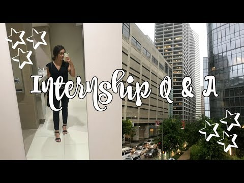 internship Q&A: my experience, how to get one, interview tips, + more!