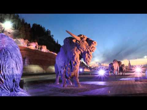 Это ты, Ханты-Мансийск!. Слова и музыка В.Симонов, видео С.Кузнецов, исполнение А.Анфимов