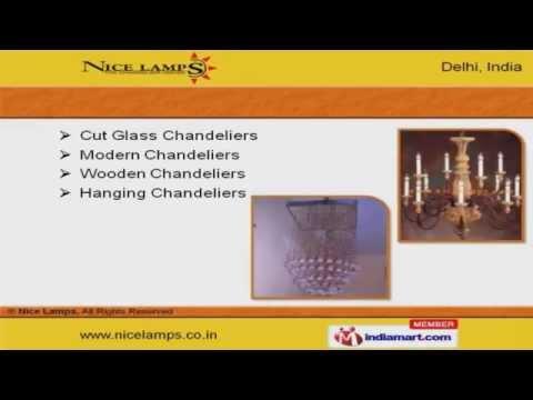 Lighting Chandeliers by Nice Lamps, New Delhi