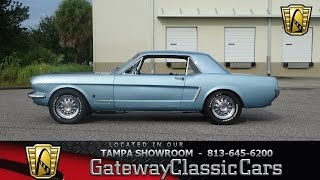 696-TPA 1965 Ford Mustang GT Tribute 289 CID V8 4 Speed Automatic