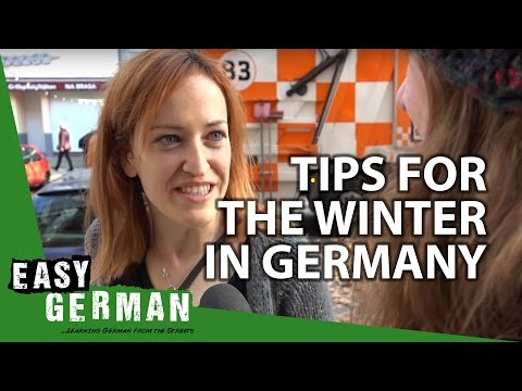 Tips for the winter in Germany | Easy German 113