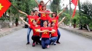 nhảy dân vũ-nối vòng tay lớn-KSCĐ Sapa