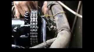 видео успокоитель цепи ваз 2107