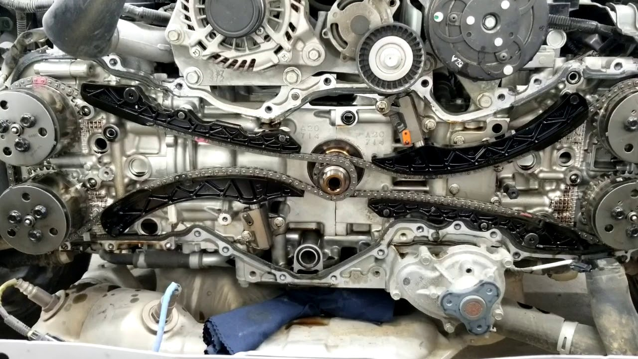 repaired engine rattling noise on subaru xv impreza forester outback at cold start  [ 1280 x 720 Pixel ]