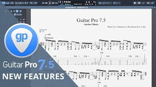 Guitar Pro 7.5 - New features explained by David Wallimann