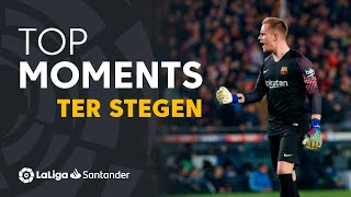 TOP Moments Ter Stegen LaLiga Santander 2018/2019
