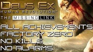 Welcome to my full walkthrough of the DLC for Deus Ex Human Revolution The Missing Link The DLC was completed while adhering to the rules of my