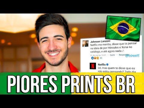 Os PIORES Prints BR | Gabriel Ferreira