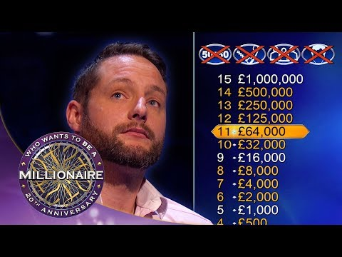 Incredible Story Behind £125,000 Win  Who Wants To Be A Millionaire?