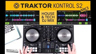 Traktor Kontrol S2 MK3 DJ Mix - House & Tech Set - Traktor Pro 3