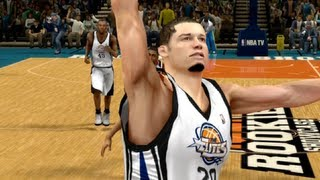 NBA 2k13 Career Mode - Rookie Showcase Featuring My Athletic Point Guard Ep.2
