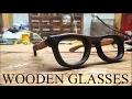Making WOODEN GLASSES (Walnut)