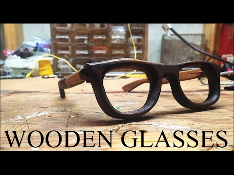 Making WOODEN GLASSES (Walnut)