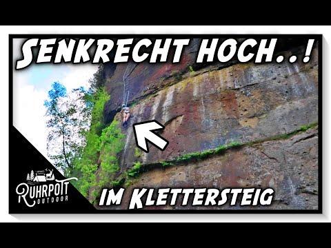 Senkrecht hoch im Klettersteig - Ruhrpott Outdoor