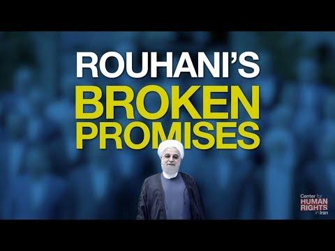 Rouhani's Broken Promises