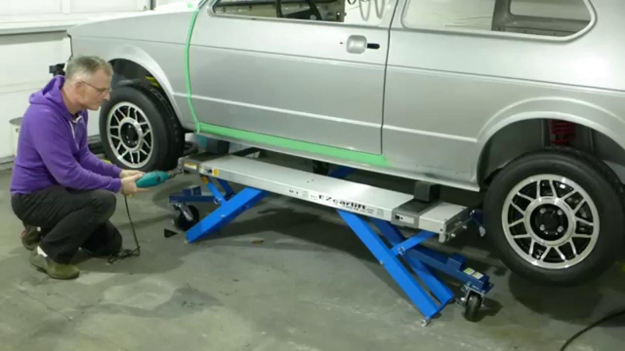 EZCarLift Automotive portable lift system review (5 stars!)