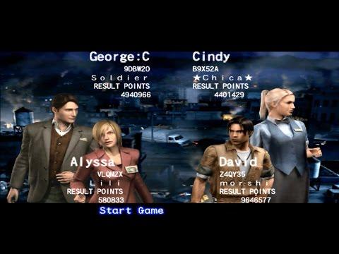 Resident Evil Outbreak File#2 Online: Flashback (Very Hard)