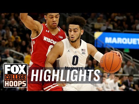 Marquette Courtside - Video Highlights: Marquette 74, Wisconsin 69