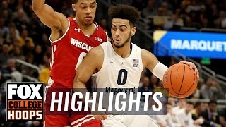 Marquette vs. Wisconsin | FOX COLLEGE HOOPS HIGHLIGHTS