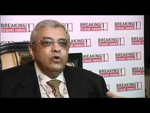 Dr Sam Saker, President & CEO, Century Hotels, Dubai @ AHIC 2011