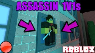 #ROADTO4KSUBS - ROBLOX ASSASSIN 1V1s W/ VIEWERS (FIRST To 5 + SIS REJECTS SOMEONE) *MILD LANGUAGE*