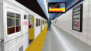 openBVE Toronto Line 1 *Updated*  Finch - Vaughan Metropolitan Centre H5 train **Arcade Mode**