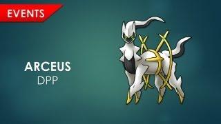 Récupérer Arceus - Pokémon Diamant, Perle et Platine