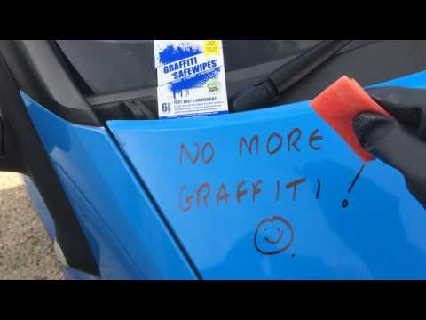 How to Remove Graffiti from a Vehicle | Graffiti Removal LTD
