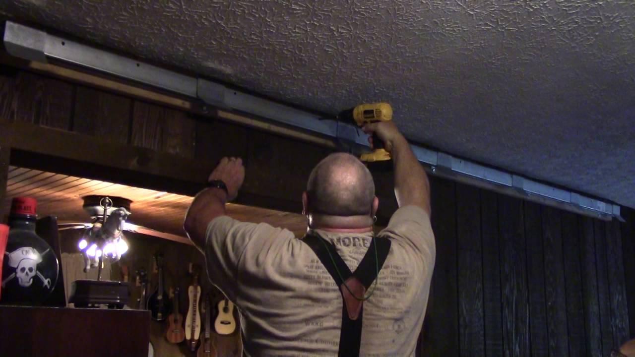How To Build A 6 Foot Barn Board Indoor Sliding Door