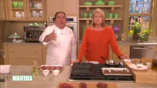 How to Grill the Perfect Steak with Emeril Lagasse ⎢Martha Stewart