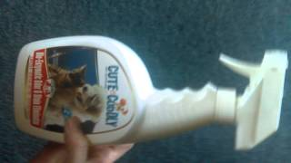 Pet odor spray