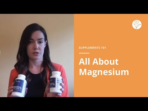 Supplements 101: Magnesium
