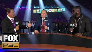 Caleb Plant dominant win over Mike Lee impresses PBC on FOX crew | PBC ON FOX
