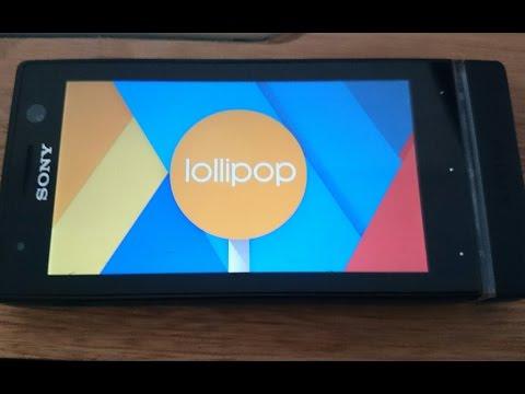 Android 5.0 - Sony Xperia U [Cyanogenmod 12]