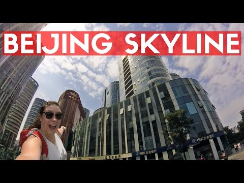 BEIJING SKYSCRAPERS | Aug Vlog 22