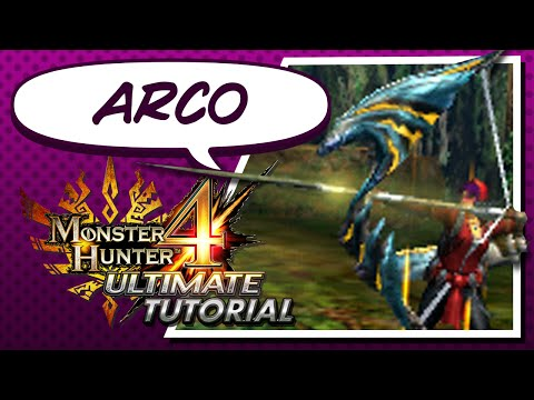 Tutorial de Arco para Monster Hunter 4 Ultimate - Español