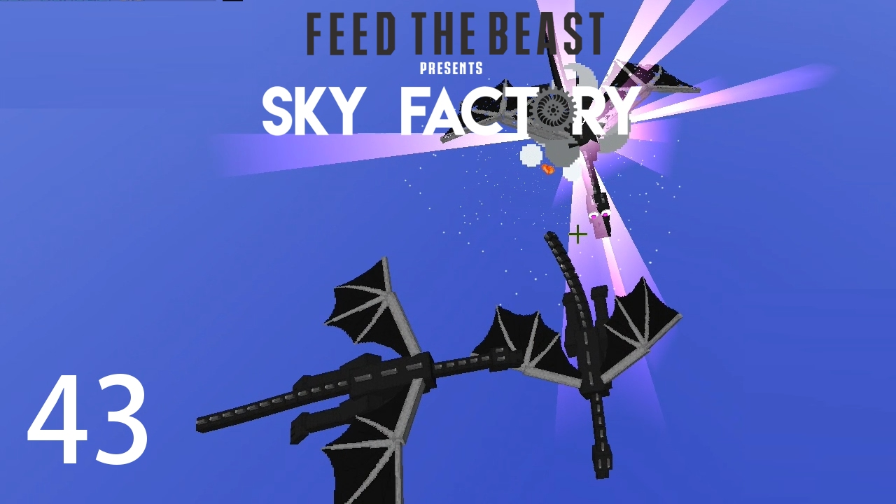 Sky Factory 3 w/ xB - RFTOOLS DRAGON DIMENSION [E43