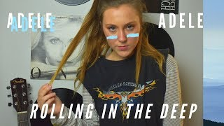 Rolling in the Deep - Adele - NOOB PLAYS GUITAR 23