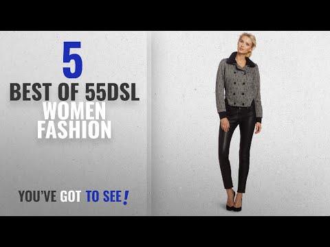 55Dsl Women Fashion [2018 Best Sellers]: 55DSL by Diesel Juniors Jio, Grey, Medium