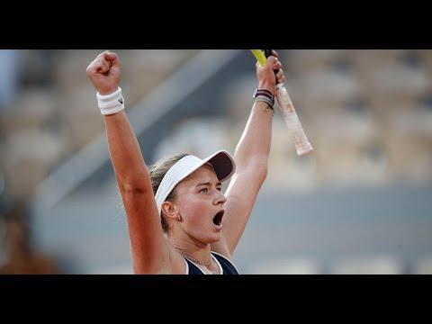 Krejcikova beats Sakkari in dramatic French Open semi-final