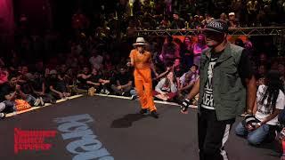 Lil Jiang vs Flo Master JUDGE BATTLE Locking Forever - Summer Dance Forever 2018