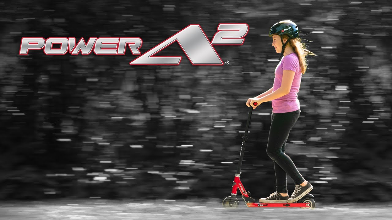 Razor Power A2 Electric Scooter Ride Video