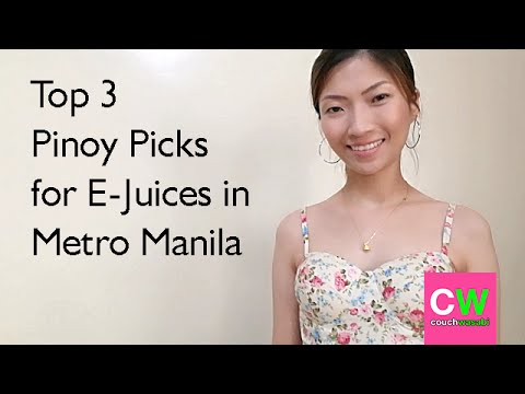 Top 3 Pinoy Picks for E-Juice in Metro Manila | couchwasabi vapes