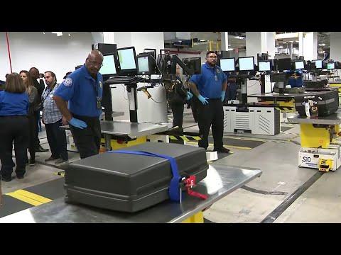 Miami International Airport unveils new screening system