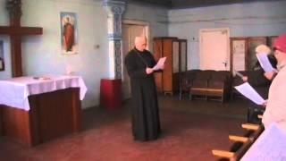 Богослужение 2015.02.01 Киев РПЦХС (пение в церкви)