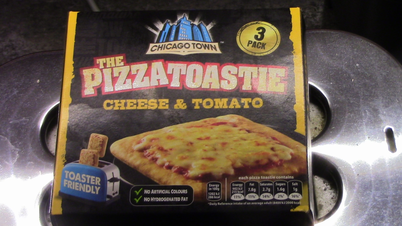 Chicago Town Pizza Tostie Review